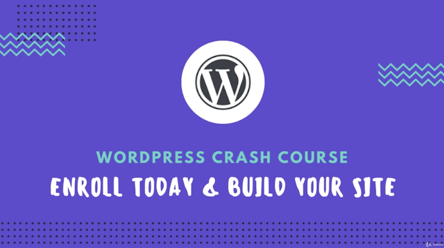 Wordpress Crash Course for Free