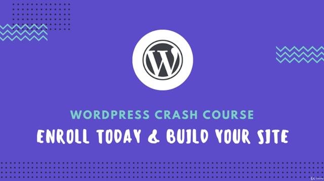 Wordpress Crash Course for Free