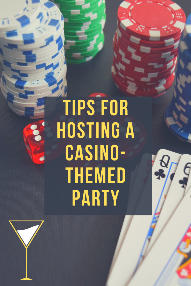 throwing a casino themed party