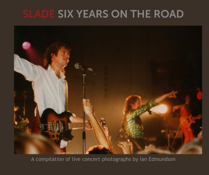 A selection from the 4 photobooks - photos from each of the shows.