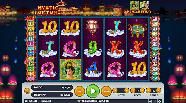 SITUS AGEN SLOT MYSTIC FORTUNE GAMES GAMES HABANERO