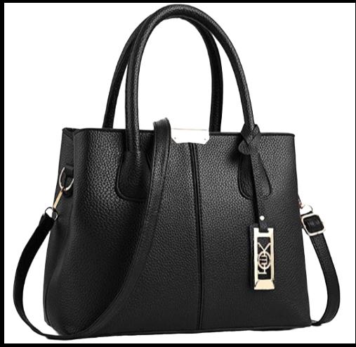 Womens Leather Top Handle Shoulder Handbag Beauty Wild Beast Large Work Tote Bag
