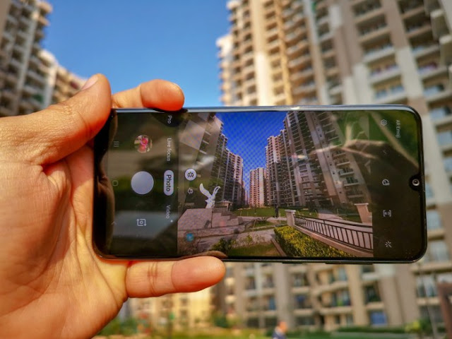 Kamera Samsung Galaxy A30