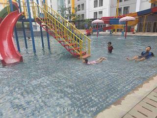 Kolam Renang Anak Di Vega Hotel ARA Tangerang