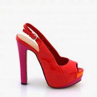 Sandale femei rosii