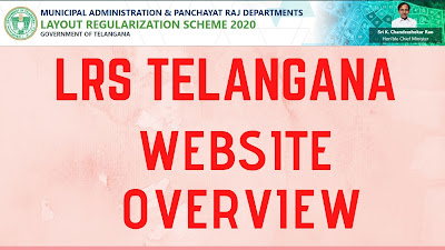 LRS Telangana ( lrs.telangana.gov.in) websiteLRS Telangana ( lrs.telangana.gov.in) website