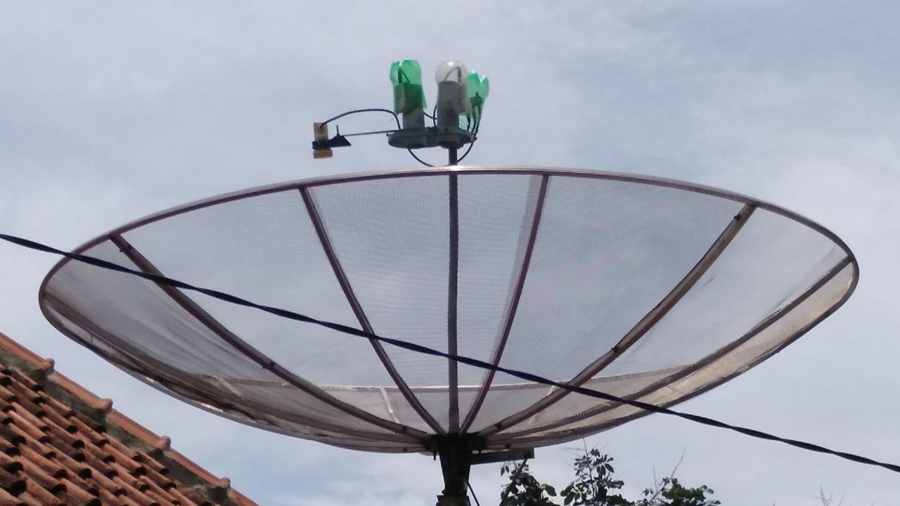 Tracking Satelit Palapa D Telkom 4 dan Measat 3b