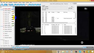 عالم الشيرنج سيرفر السيسكام  CCcam غلادياتور GLARIATOR باستعمال الهادو Hadu ...