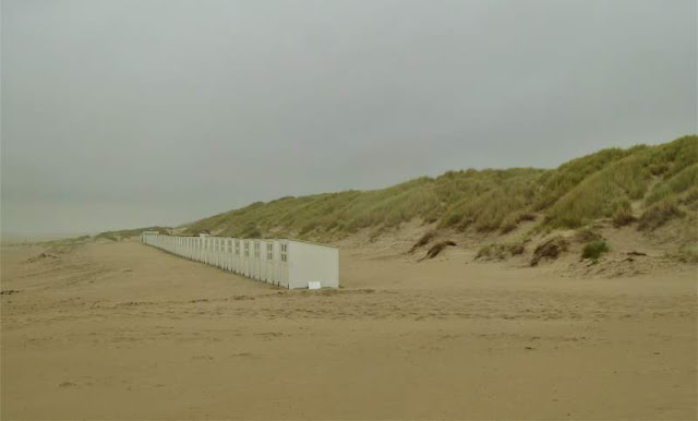 cabine nella spiaggia 28 a Texel