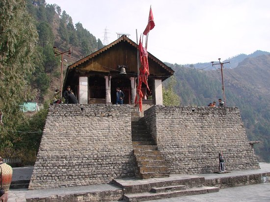 Dalhousie Attraction - Chamunda Devi Temple Chamba