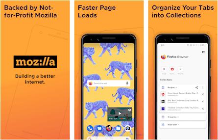 Aplikasi browser terbaik dan tercepat - mozilla firefox