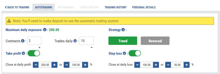 Daweda Exchange Auto-Trading