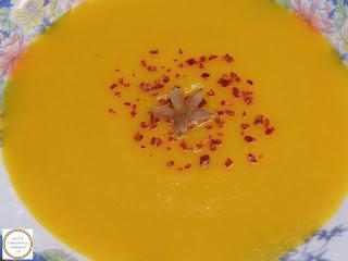 Supa crema de dovleac vegetarian reteta,