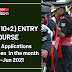 TES (10+2) ENTRY-46 COURSE: Online applications  will open  in the month of May-Jun 2021