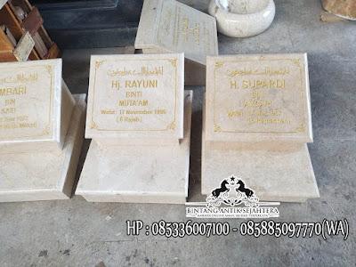 Batu Marmer Untuk Nisan, Batu Nisan Marmer Tulungagung, Jual Batu Nisan Marmer