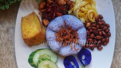 nasi ungu warung online martani kuliner