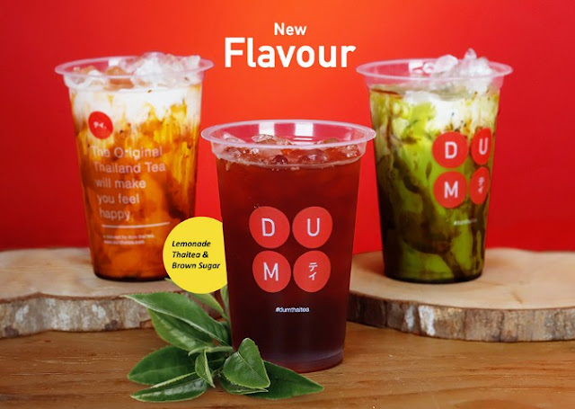 Franchise Minuman Dum Dum Thai tea