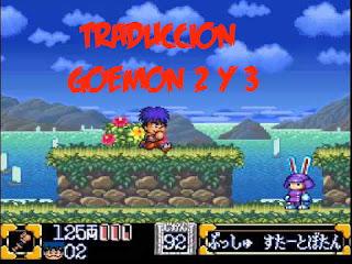 Traducción Goemon 2 y 3 super nintendo
