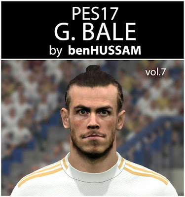 PES 2017 Bale (Wales) Face By benHUSSAM