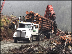 Western Forest Products Kenworth T880