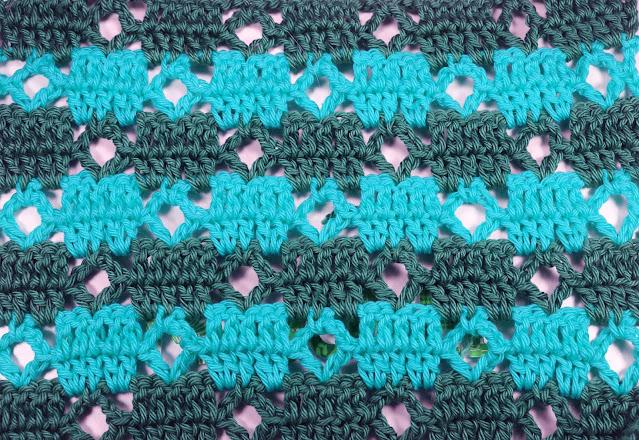 6 - Crochet Puntada de cuadrados a crochet y ganchillo Majovel Crocher baretas paso a paso doble facil sencillo