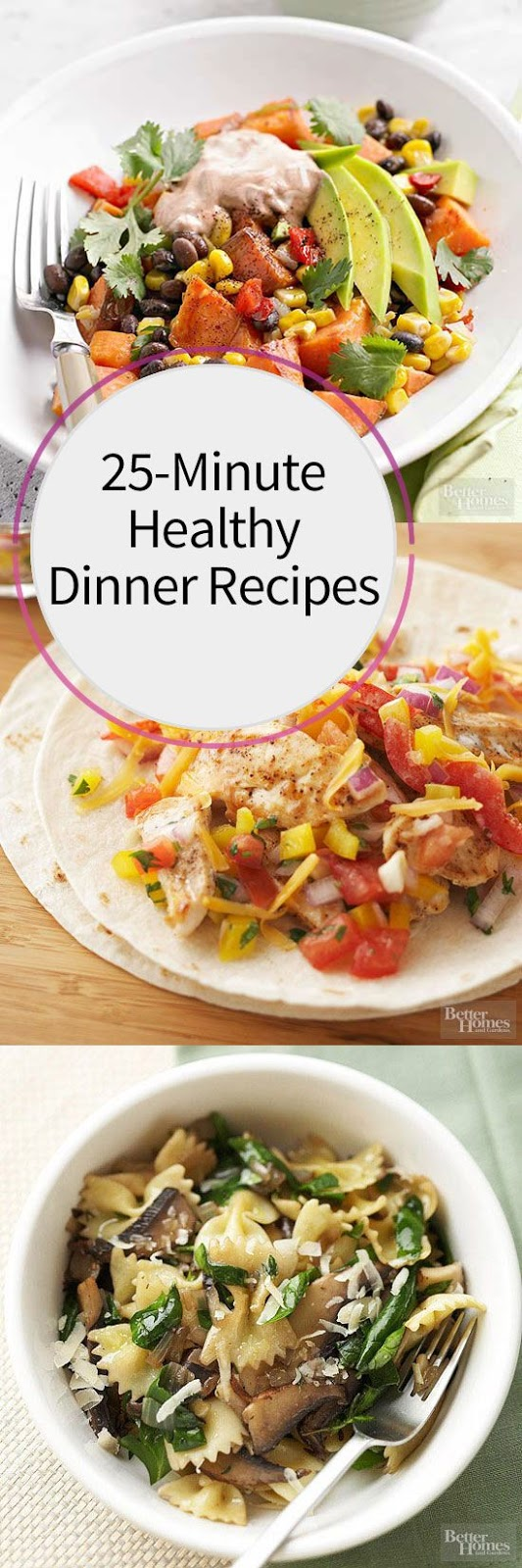 25-Minute Healthy Dinner Recipes