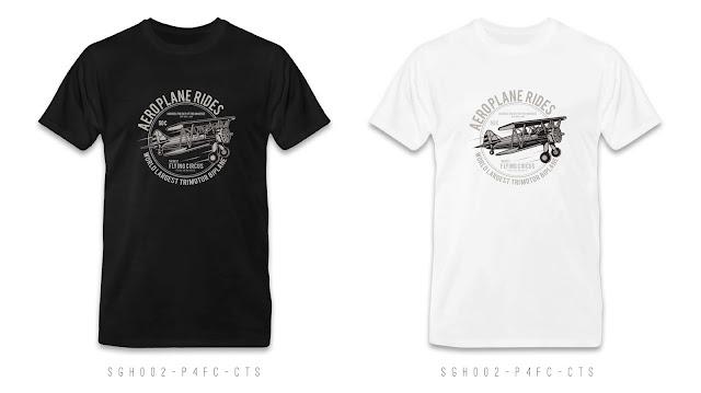 SGH002-P4FC-CTS Graphic T Shirt Design, Custom T Shirt Printing