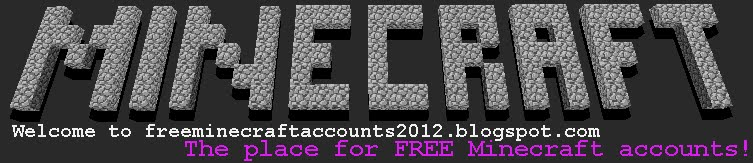Free Minecraft Accounts 2012