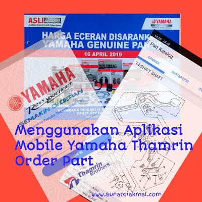 App mobile yamaha thamrin order part