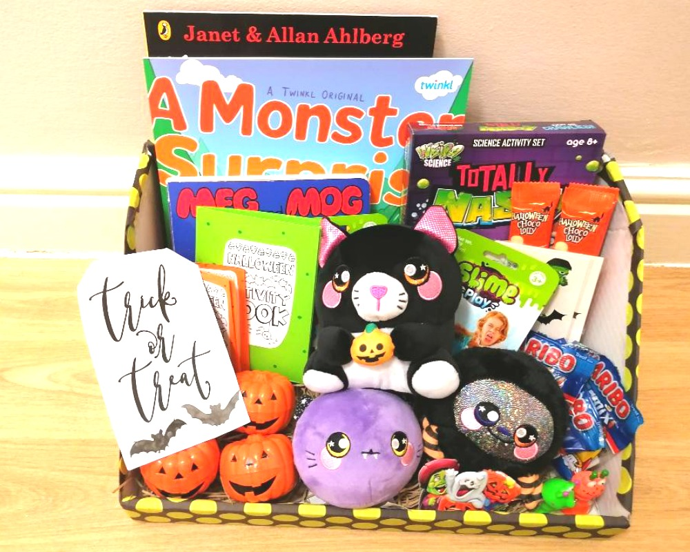 Halloween Gift Baskets For Kids Ideas