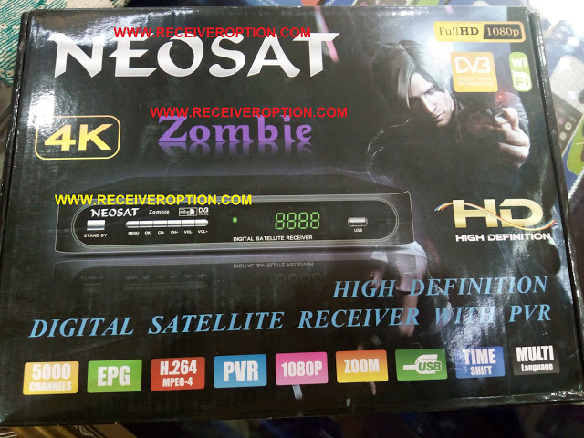 OLD MODEL NEOSAT ZOMBIE HD RECEIVER CCCAM OPTION
