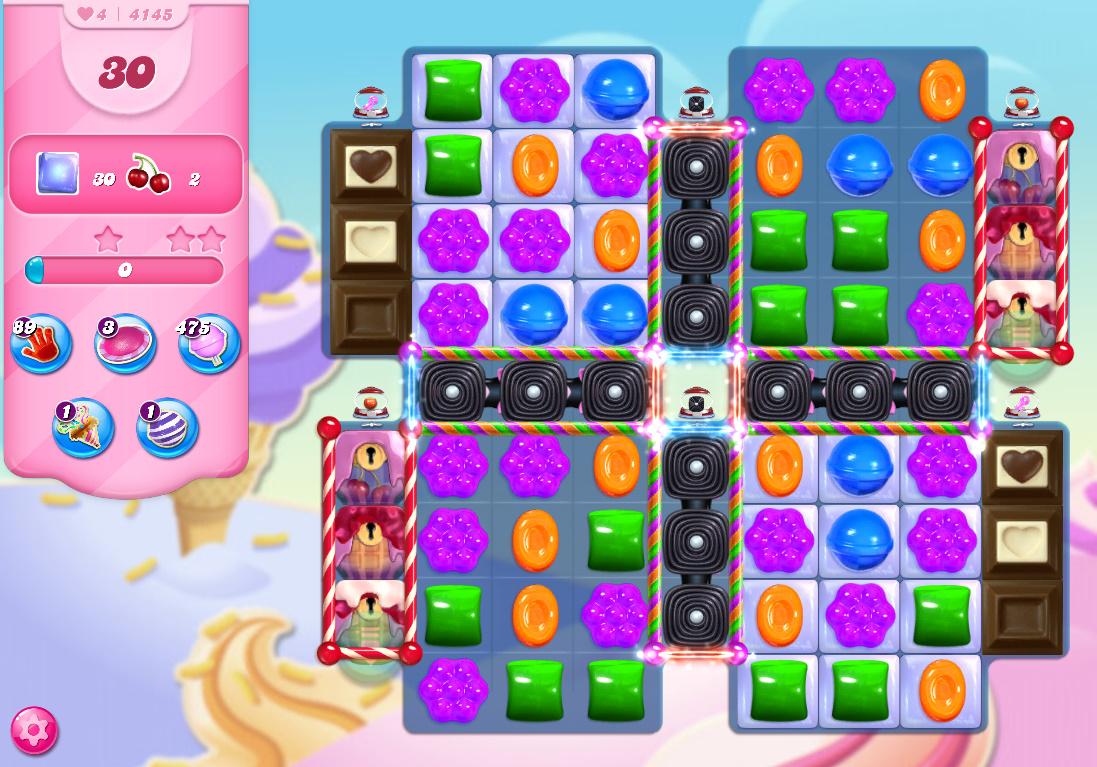 Candy Crush Saga level 4145