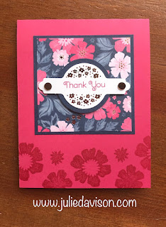 3 Everything is Rosy Cards ~ Stampin' Up! ~ May 2019 Product Medley ~ www.juliedavison.com