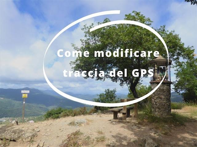 Come modificare traccia GPS mygpsfiles