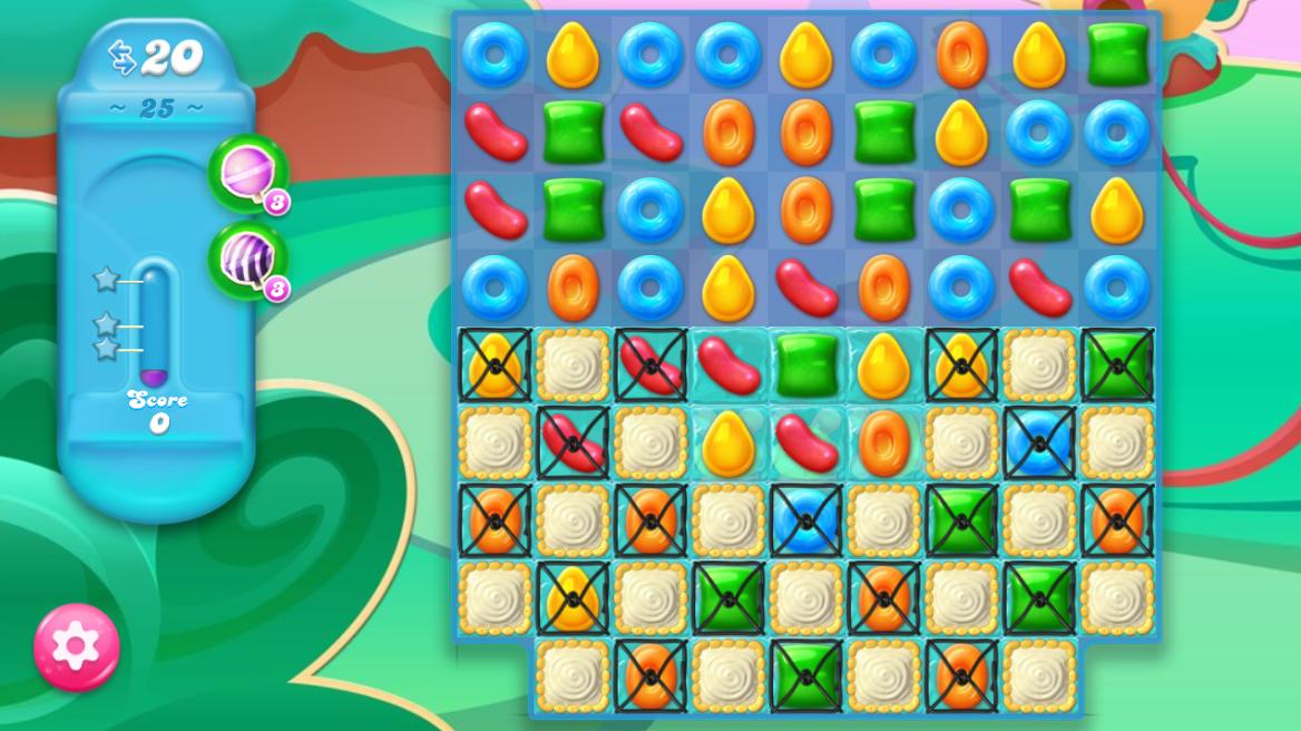 Candy Crush Jelly Saga 25