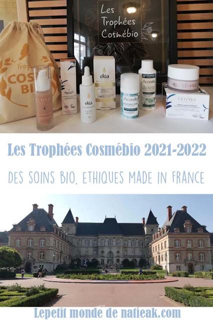 lauréats Trophées Cosmébio 2021
