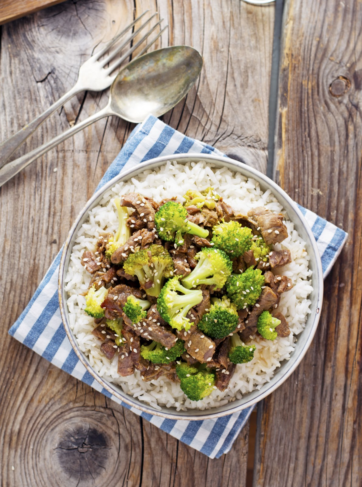 Crock-Pot Broccoli Beef
