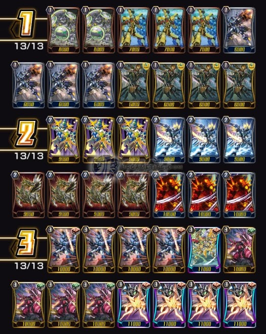 Vanguard ZERO: Nova Grappler Blau Deck Build #2 and Guide