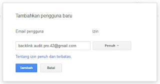 tambah property webmaster