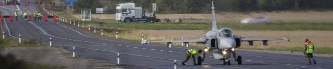 As IAF Inaugurates Highway For Fighters, Does Sweden Offer Lessons?
