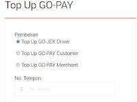 Top Up Saldo GO-PAY kini sudah tersedia di BNI