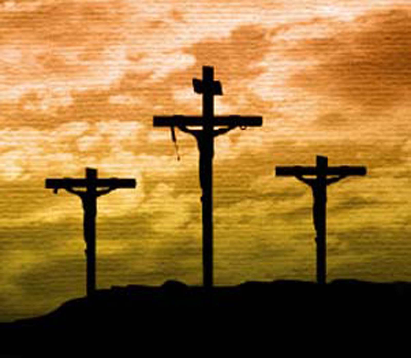 What did Jesus do on the cross?
