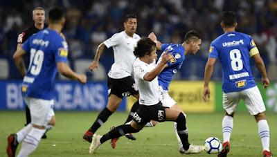 Cruzeiro x Corinthians ao vivo online