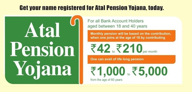Atal Pension Yojna for Guaranteed Pension for Indians - Important Features