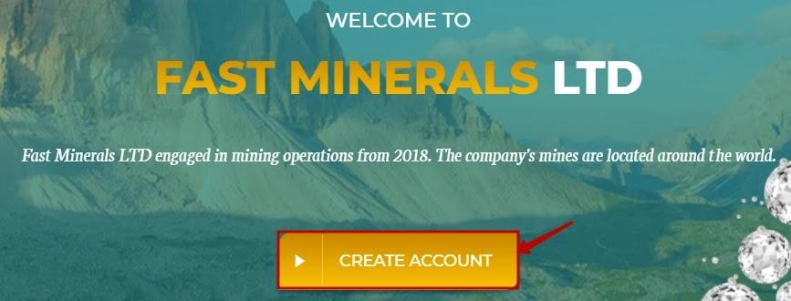 Регистрация в Fast Minerals LTD