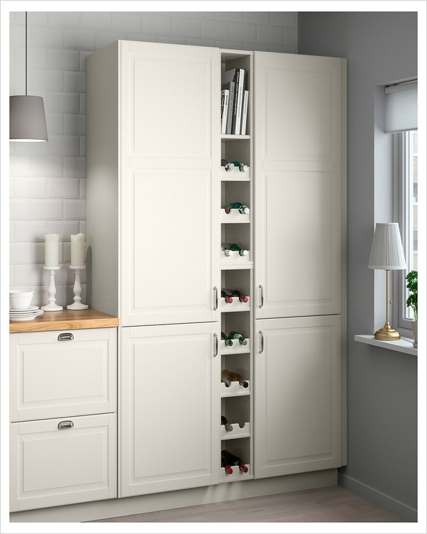 White Kitchen Pantry Cabinet Home Interior Exterior Decor Design Ideas