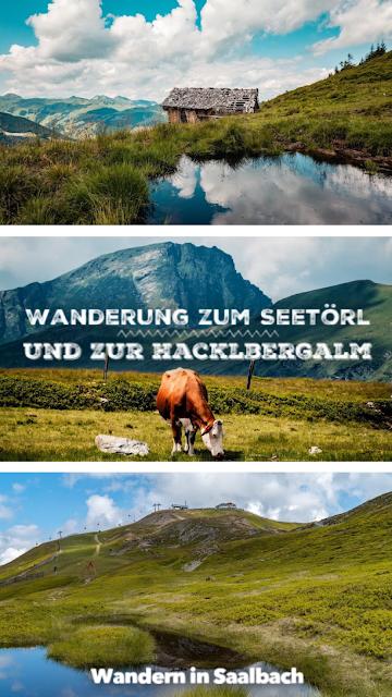 Wanderung zum Seetörl und zur Hacklbergalm  Schattberg Westgipfel Saalbach 22