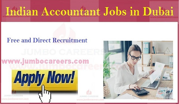 Accountant walk in interview jobs in UAE, Available job vacancies in UAE,