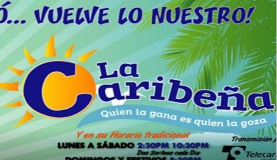 Caribeña Dia domingo 5 de mayo 2019