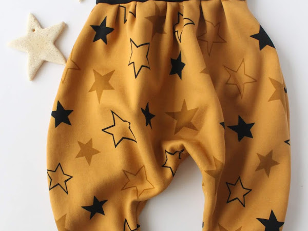 Couture facile : Sarouel enfant DIY